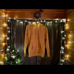 Mustard yellow forever 21 hoodie